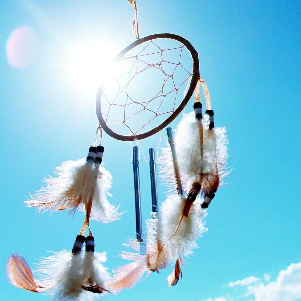 dreamcatcher, native american, spider web